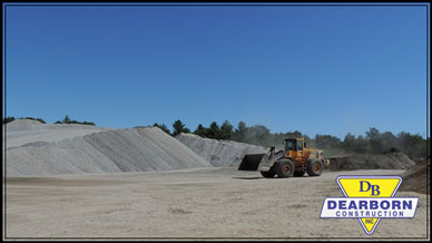 Delivery and Pickup of Sand & Gravel In Southern Maine