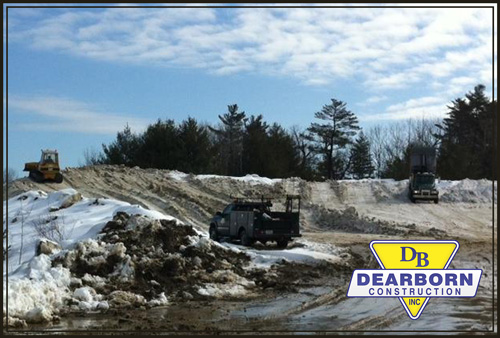 Commercial Snow Removal & Plowing Services Southern Maine