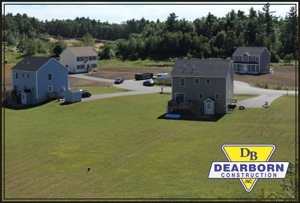 Residential Subdivision construction  - Wells Maine